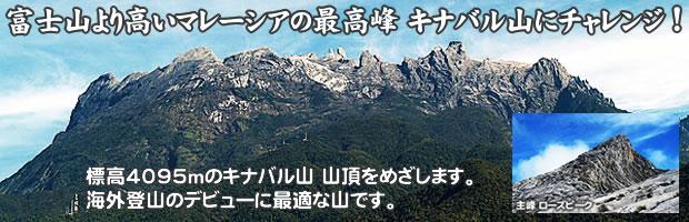 海外登山のデビューに最適な山 キナバル のツアー案内