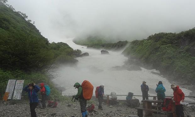 白馬岳から栂池自然園 ツアーレポート 2日目